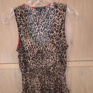 super cute leopard print dress